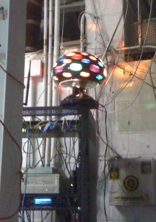 A dance party? In my hackerspace? It's more likely than you think!