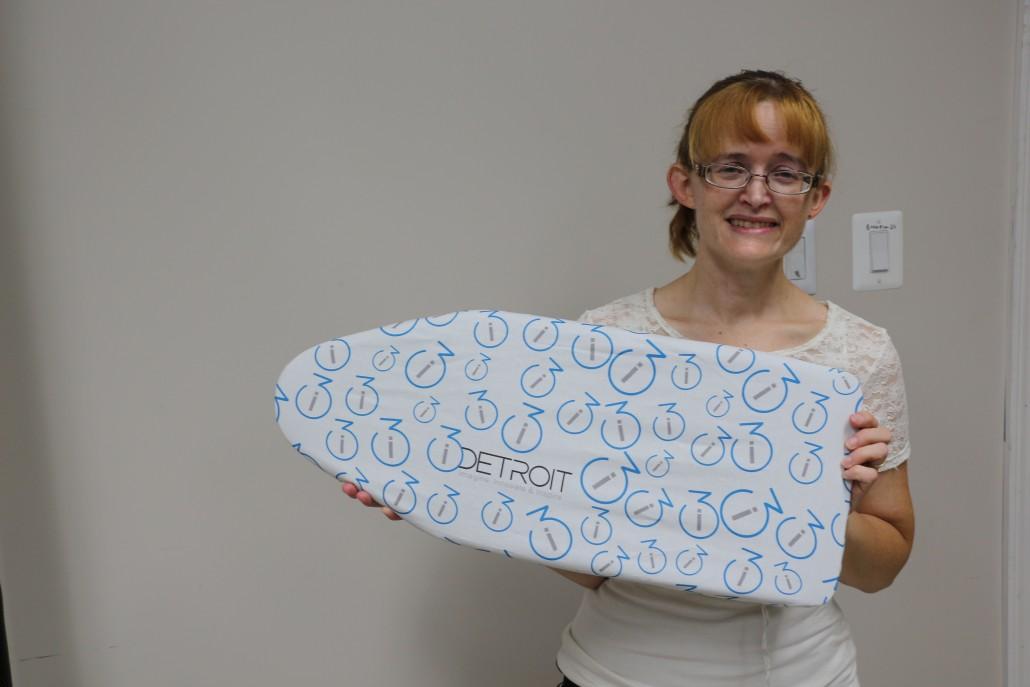 i3Detroit Ironing Board