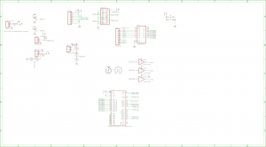 Schematic for Dixie-Narco mainboard