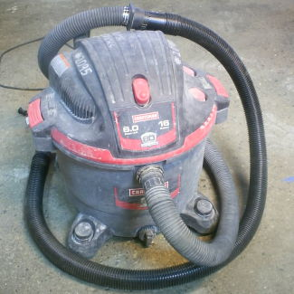 Craftsman wet-dry vac photo