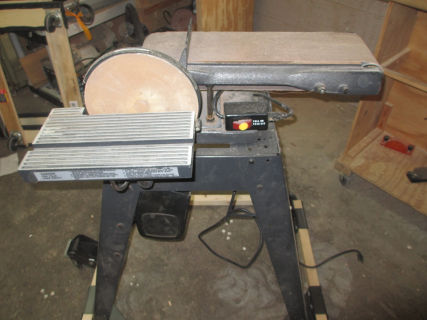 Craftsman belt+disc sander photo