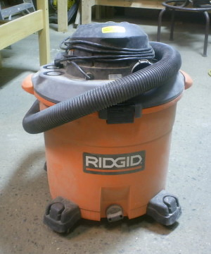 rigid 16gal wet-dry vac photo