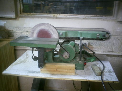 belt+disc sander photo