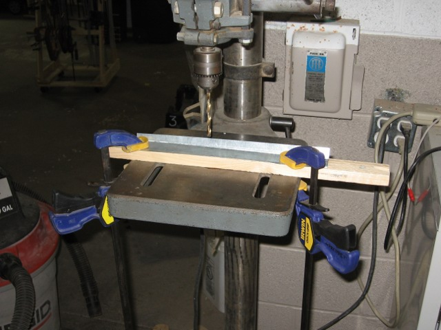 drill press wood clamps