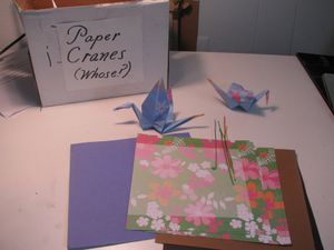 CraftRoomInventory Project PaperCranes.jpg