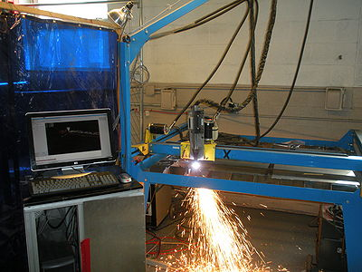Plasma Cutter Cutting