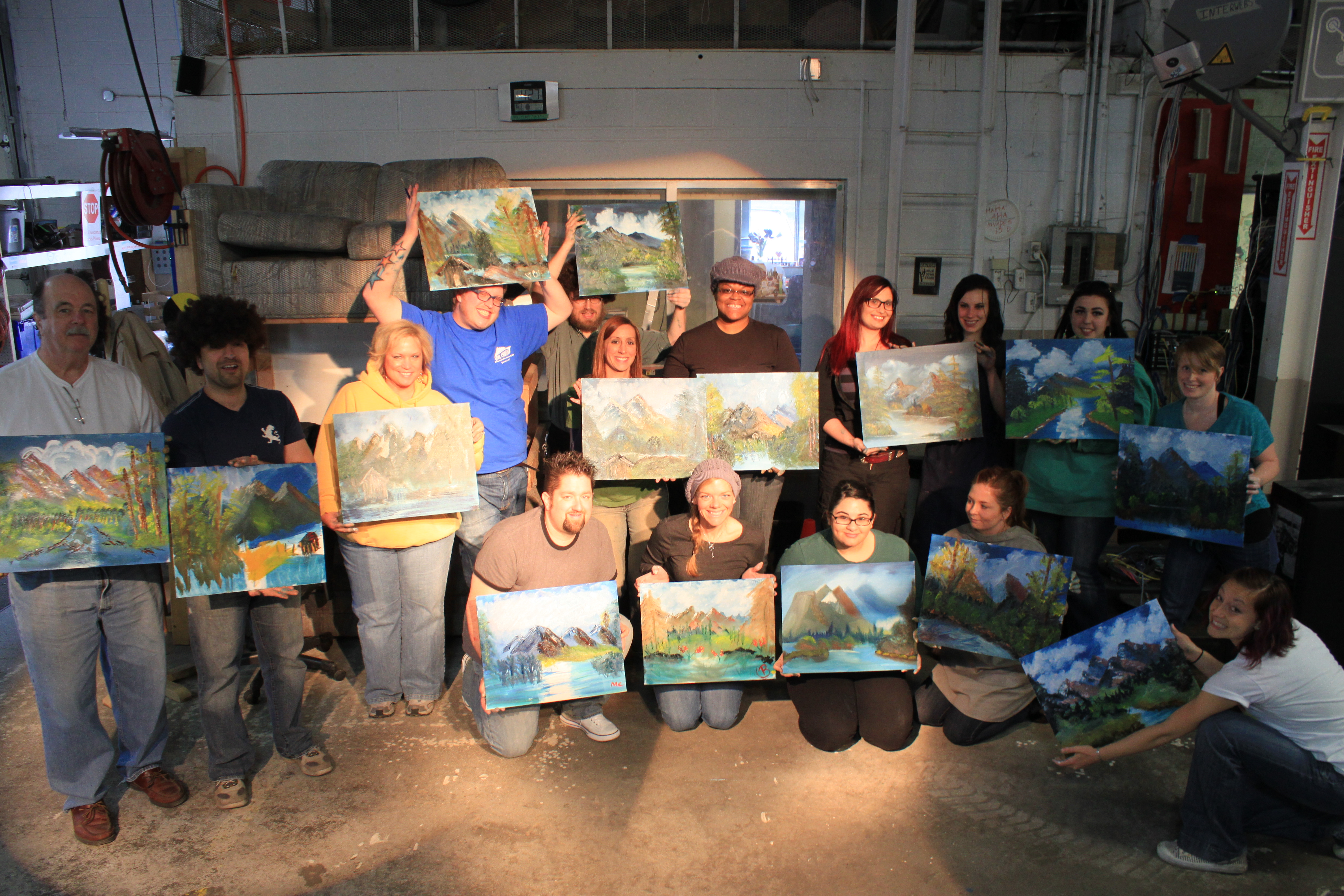 bob ross paint along class may 18th i3detroit