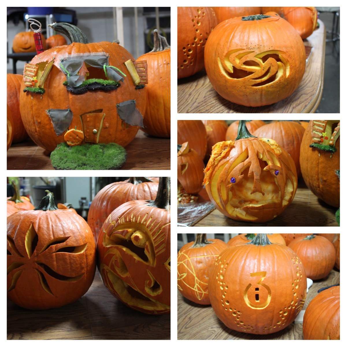 PumpkinCarvingCollage2